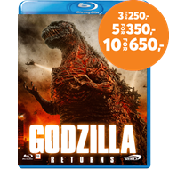 Produktbilde for Godzilla Returns - The King Of Monsters Is Back (BLU-RAY)