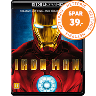 Produktbilde for Iron Man 1 (4K Ultra HD + Blu-ray)