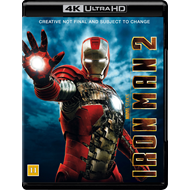 Produktbilde for Iron Man 2 (4K Ultra HD + Blu-ray)