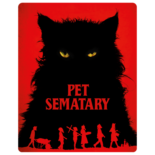 Pet Sematary (2019) - Limited Steelbook Edition (DK-import) (BLU-RAY)