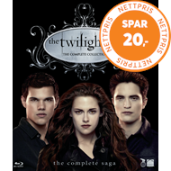 Produktbilde for The Twilight Saga - The Complete Collection (DK-import) (BLU-RAY)