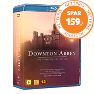 Produktbilde for Downton Abbey - Den Komplette Serien (BLU-RAY)