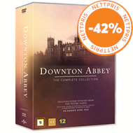 Produktbilde for Downton Abbey - Den Komplette Serien (DVD)