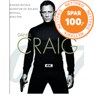 Produktbilde for James Bond - Daniel Craig Collection (4K Ultra HD + Blu-ray)