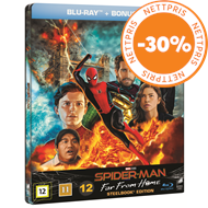 Produktbilde for Spider-Man: Far From Home - Limited Steelbook Edition (Blu-ray + DVD)