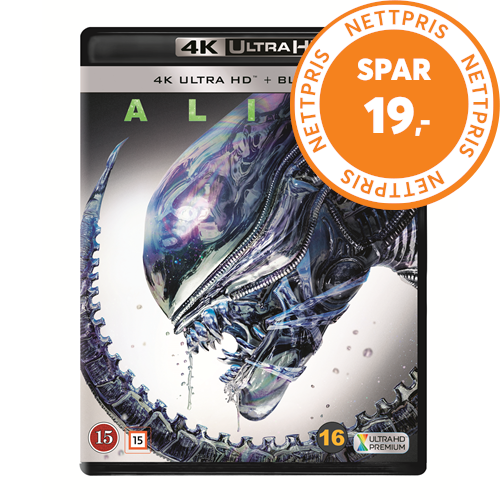 Alien (4K Ultra HD + Blu-ray)
