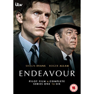 Produktbilde for Endeavour / Unge Inspektør Morse - Sesong 1-6 (UK-import) (DVD)