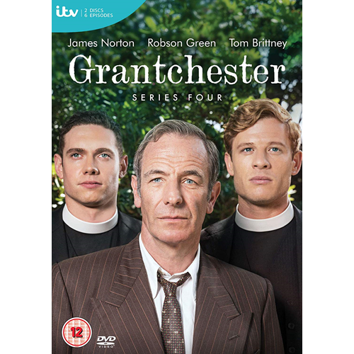 Grantchester - Sesong 4 (UK-import) (DVD)