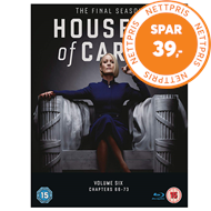 Produktbilde for House Of Cards - Sesong 6 (UK-import) (BLU-RAY)