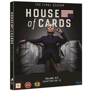Produktbilde for House Of Cards - Sesong 6 (BLU-RAY)