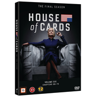 Produktbilde for House Of Cards - Sesong 6 (DVD)