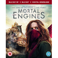 Mortal Engines (UK-import) (Blu-ray 3D + Blu-ray)