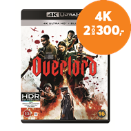 Produktbilde for Overlord (4K Ultra HD + Blu-ray)