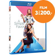 A Simple Favor (DK-import) (BLU-RAY)