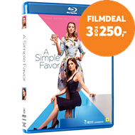 Produktbilde for A Simple Favor (DK-import) (BLU-RAY)