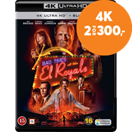 Produktbilde for Bad Times At The El Royale (4K Ultra HD + Blu-ray)