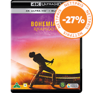 Produktbilde for Bohemian Rhapsody (4K Ultra HD + Blu-ray)