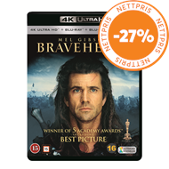 Produktbilde for Braveheart (4K Ultra HD + Blu-ray)
