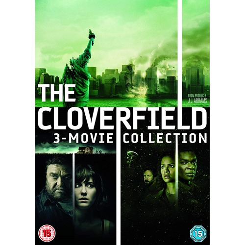 Cloverfield 1-3: The Collection (UK-import) (DVD)
