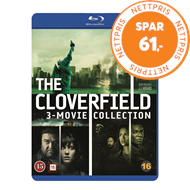 Produktbilde for Cloverfield 1-3: The Collection (UK-import) (BLU-RAY)
