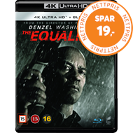 Produktbilde for The Equalizer (4K Ultra HD + Blu-ray)