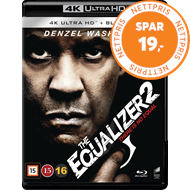Produktbilde for The Equalizer 2 (4K Ultra HD + Blu-ray)