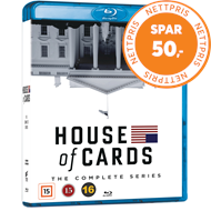 Produktbilde for House Of Cards - Sesong 1-6: Complete Series (BLU-RAY)