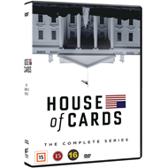 Produktbilde for House Of Cards - Sesong 1-6: Complete Series (DVD)