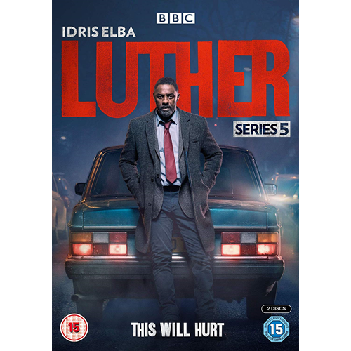 Luther - Sesong 5 (UK-import) (DVD)