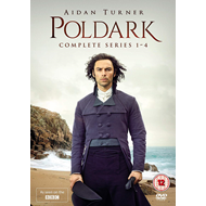 Produktbilde for Poldark - Sesong 1-4 (UK-import) (DVD)