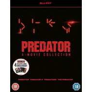 Produktbilde for Predator Quadrilogy (UK-import) (BLU-RAY)