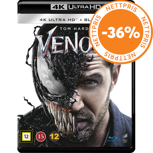 Venom (4K Ultra HD + Blu-ray)