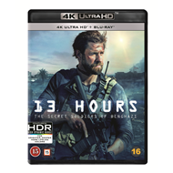 Produktbilde for 13 Hours (4K Ultra HD + Blu-ray)