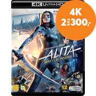 Produktbilde for Alita: Battle Angel (4K Ultra HD + Blu-ray)