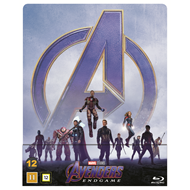 Produktbilde for Avengers 4 - Endgame - Limited Steelbook Edition (BLU-RAY)