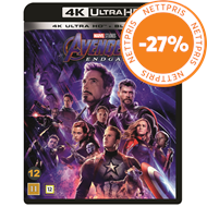 Produktbilde for Avengers 4 - Endgame (4K Ultra HD + Blu-ray)