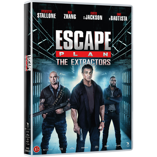 Escape Plan 3: The Extractors (DK-import) (DVD)