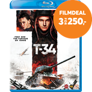Produktbilde for T-34 (BLU-RAY)