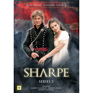 Produktbilde for Sharpe - Sesong 2 (DVD)