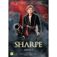 Produktbilde for Sharpe - Sesong 3 (DVD)