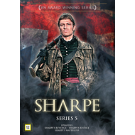 Produktbilde for Sharpe - Sesong 5 (DVD)