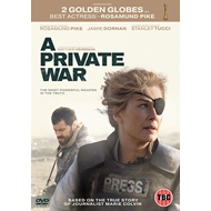 Produktbilde for A Private War (UK-import) (DVD)