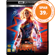 Produktbilde for Captain Marvel (4K Ultra HD + Blu-ray)