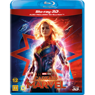 Produktbilde for Captain Marvel (Blu-ray 3D + Blu-ray)
