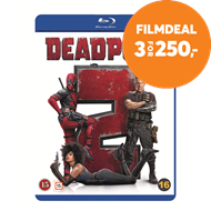 Produktbilde for Deadpool 2 (Theatrical  Version) (DK-import) (BLU-RAY)