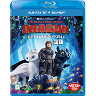 Produktbilde for Dragetreneren 3 (Blu-ray 3D + Blu-ray)