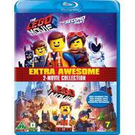 Produktbilde for Legofilmen 1 - 2 (BLU-RAY)