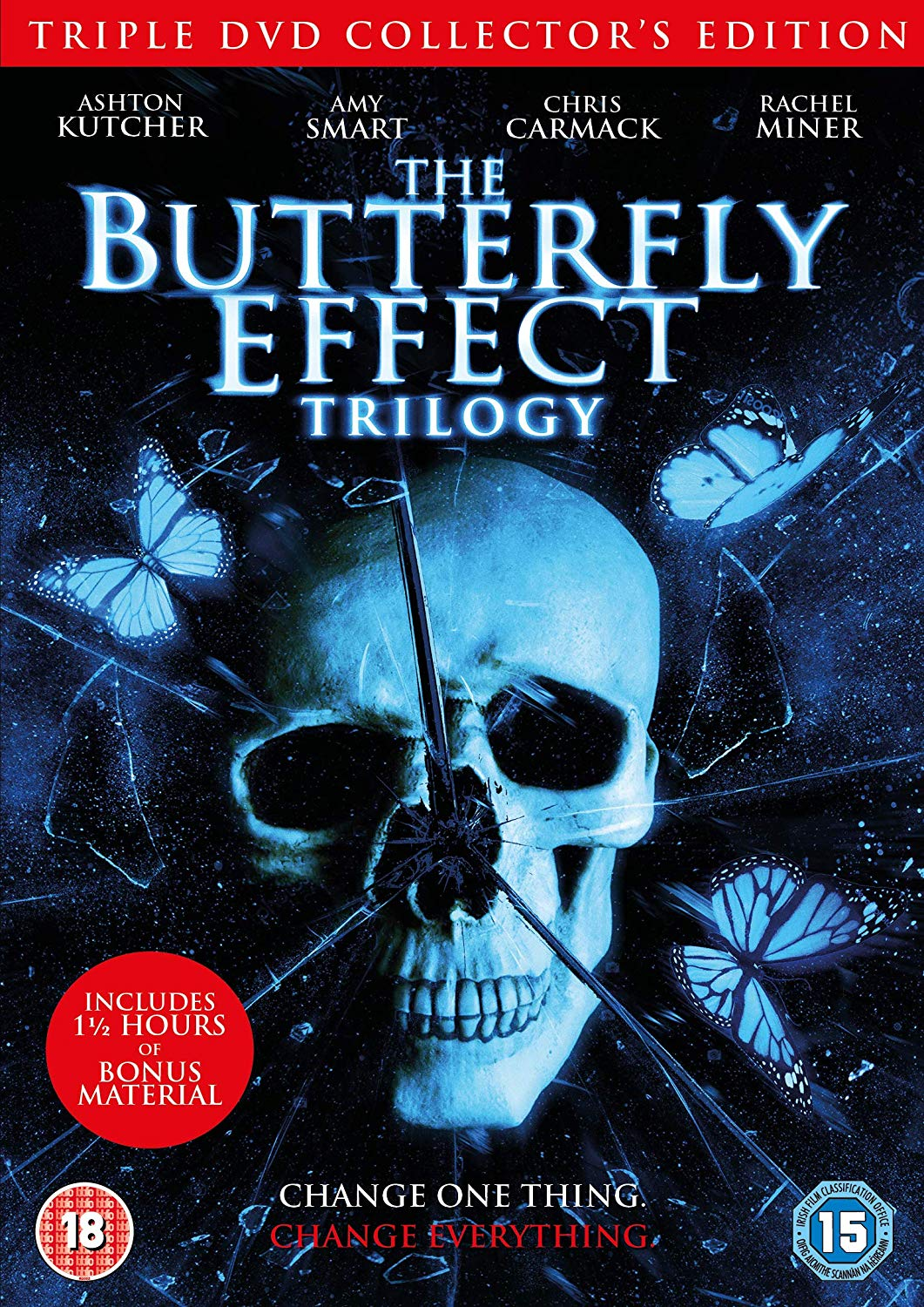 The Butterfly Effect Trilogy Uk Import Dvd