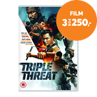 Produktbilde for Triple Threat (UK-import) (DVD)