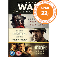 Produktbilde for Ultimate War Collection: We Were Soldiers/Hurricane/Anthropoid (UK-import) (DVD)